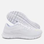 Мужские кроссовки Nike Free Hypervenom Low White/Metallic Silver фото- 2