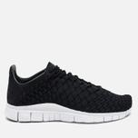Nike Free Inneva Woven Men's Sneakers Black/Anthracite/Summit White photo- 0