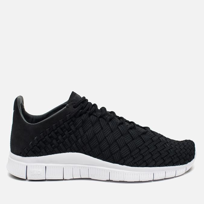 Nike Free Inneva Woven Men's Sneakers Black/Anthracite/Summit White