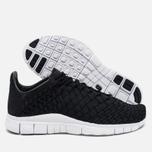 Nike Free Inneva Woven Men's Sneakers Black/Anthracite/Summit White photo- 2