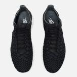 Nike Free Inneva Woven Men's Sneakers Black/Anthracite/Summit White photo- 4