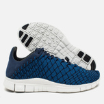 Мужские кроссовки Nike Free Inneva Woven Fountain Blue/Summit White/Mid Navy фото- 2