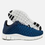 Nike Free Inneva Woven Fountain Men's Sneakers Blue/Summit White/Mid Navy photo- 2