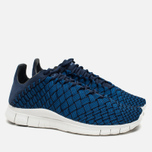 Мужские кроссовки Nike Free Inneva Woven Fountain Blue/Summit White/Mid Navy фото- 1