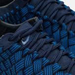 Nike Free Inneva Woven Fountain Men's Sneakers Blue/Summit White/Mid Navy photo- 5
