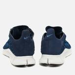 Nike Free Inneva Woven Fountain Men's Sneakers Blue/Summit White/Mid Navy photo- 3