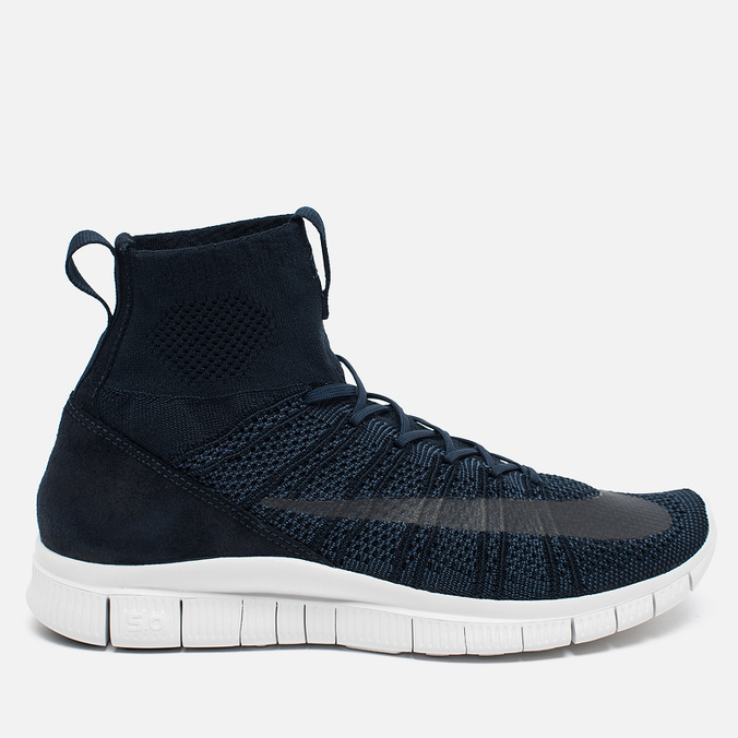 Мужские кроссовки Nike Free Mercurial Superfly SP Dark Obsidian