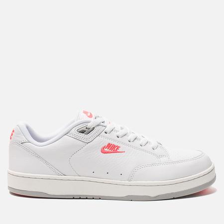 Мужские кроссовки Nike Grandstand II Premium White/Solar Red/Wolf Grey