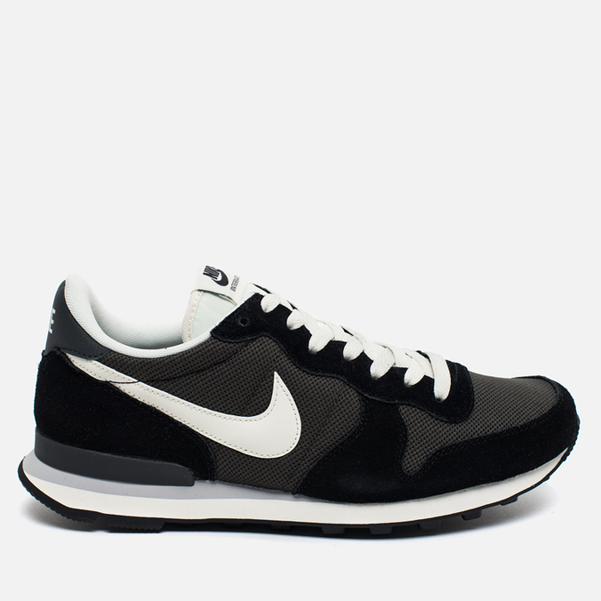 Мужские кроссовки Nike Internationalist Black/White/Dark Grey
