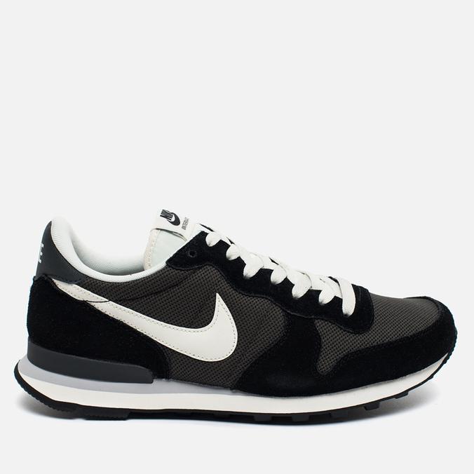 Nike Internationalist Men's Sneakers Black/White/Dark Grey