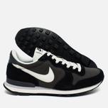 Nike Internationalist Men's Sneakers Black/White/Dark Grey photo- 2