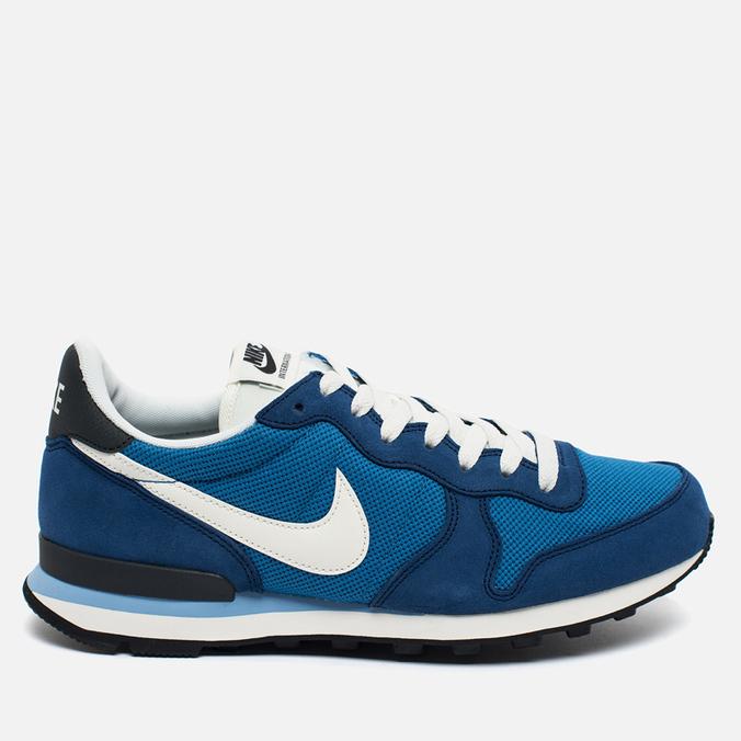Мужские кроссовки Nike Internationalist Blue/White