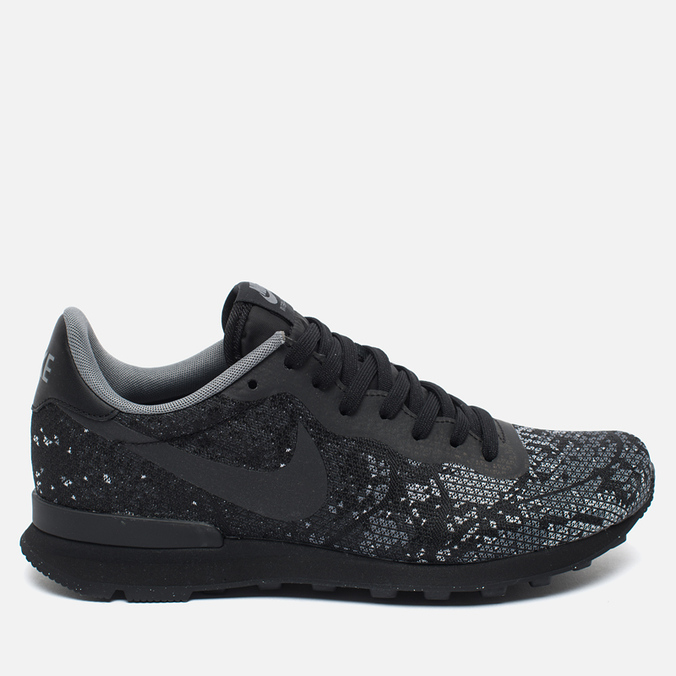 Мужские кроссовки Nike Internationalist Jacquard Black/Dark Grey/Wolf Grey