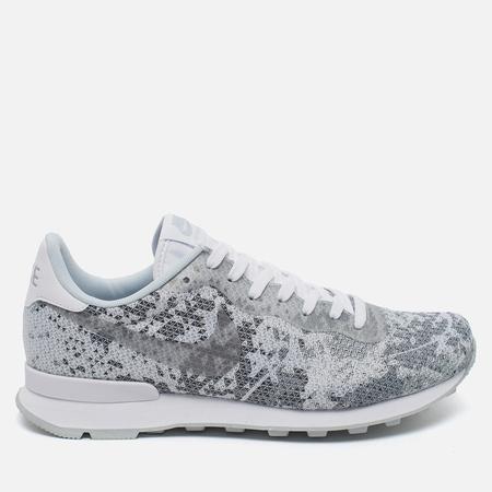 Мужские кроссовки Nike Internationalist Jacquard White/Metallic Platinum/Pure Platinum