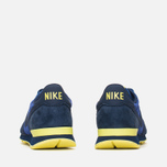 Nike Internationalist Leather Men's Trainers Midnight Navy/Voltage Yellow photo- 3