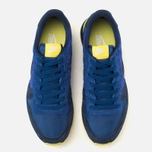 Nike Internationalist Leather Men's Trainers Midnight Navy/Voltage Yellow photo- 4
