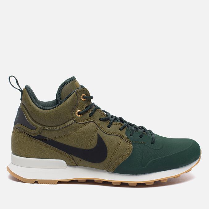 Мужские кроссовки Nike Internationalist Mid Utility Olive Flak/Black/Grove Green