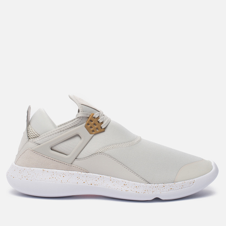 Мужские кроссовки Jordan Fly '89 Light Bone/Metallic Gold/White