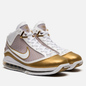 Мужские кроссовки Nike Lebron VII QS China Moon White/White/Metallic Gold фото - 0