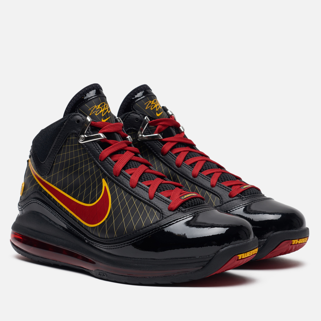 Мужские кроссовки Nike Lebron VII QS Fairfax Away Black/Varsity Red/Varsity Maize