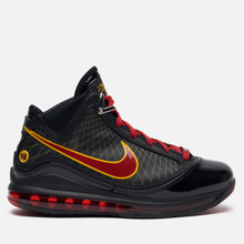 Мужские кроссовки Nike Lebron VII QS Fairfax Away Black/Varsity Red/Varsity Maize фото- 3