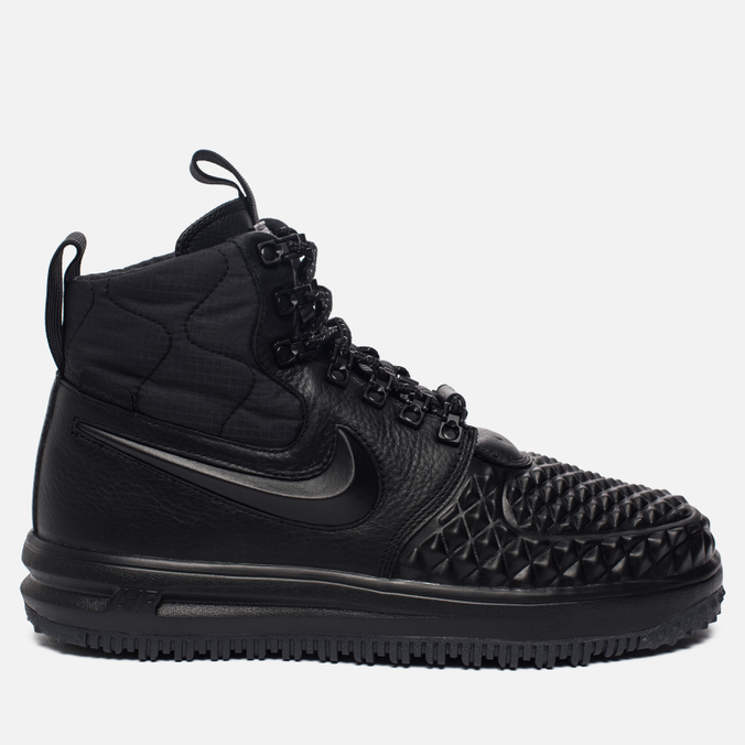 Мужские кроссовки Nike Lunar Force 1 Duckboot '17 Black/Black/Anthracite