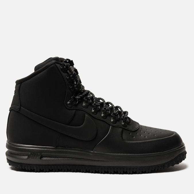 Мужские кроссовки Nike Lunar Force 1 Duckboot '18 Black/Black/Black