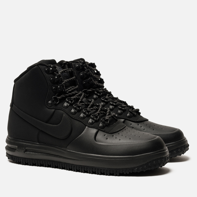 Мужские кроссовки Nike Lunar Force 1 Duckboot '18 Black/Black/Black