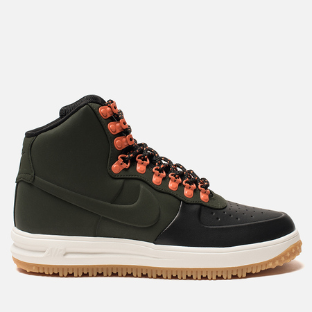 Мужские кроссовки Nike Lunar Force 1 Duckboot '18 Black/Sequoia/Sail/Gum Light Brown