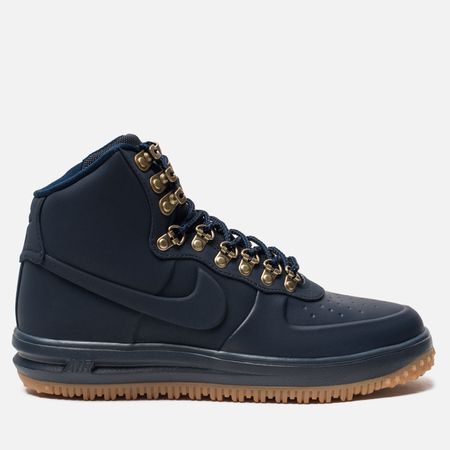 Мужские кроссовки Nike Lunar Force 1 Duckboot '18 Obsidian/Obsidian/Gum Med Brown/Black