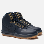 Мужские кроссовки Nike Lunar Force 1 Duckboot '18 Obsidian/Obsidian/Gum Med Brown/Black фото- 1