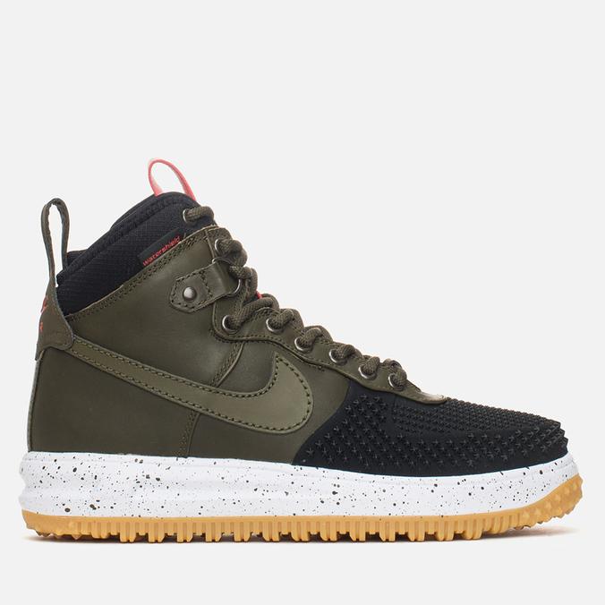 Мужские зимние кроссовки Nike Lunar Force 1 Duckboot Gum Light Brown/Dark Loden