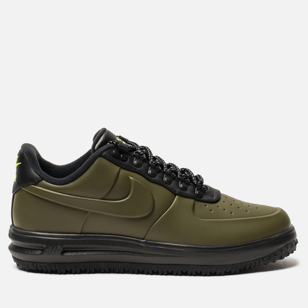 Мужские кроссовки Nike Lunar Force 1 Duckboot Low Olive Canvas/Olive Canvas/Black/Volt