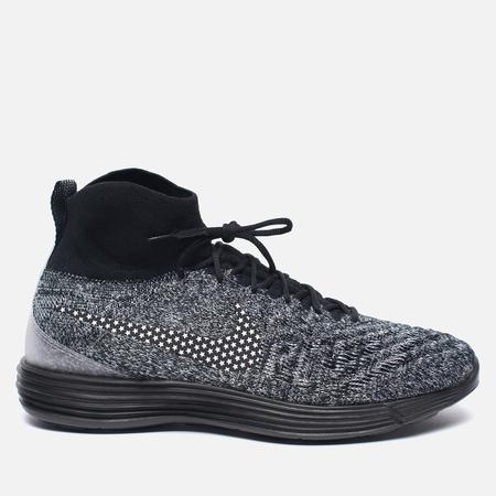 Мужские кроссовки Nike Lunar Magista II Flyknit FC Black/White