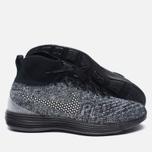 Мужские кроссовки Nike Lunar Magista II Flyknit FC Black/White фото- 2