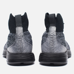 Мужские кроссовки Nike Lunar Magista II Flyknit FC Black/White фото- 3