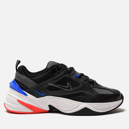 Мужские кроссовки Nike M2K Tekno Dark Grey/Black/Baroque Brown/Racer Blue