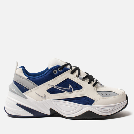 Мужские кроссовки Nike M2K Tekno Sail/Deep Royal Blue/Wolf Grey/White