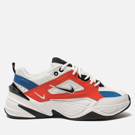 Мужские кроссовки Nike M2K Tekno Summit White/Black/Team Orange