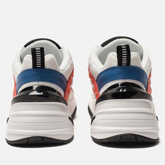 Мужские кроссовки Nike M2K Tekno Summit White/Black/Team Orange