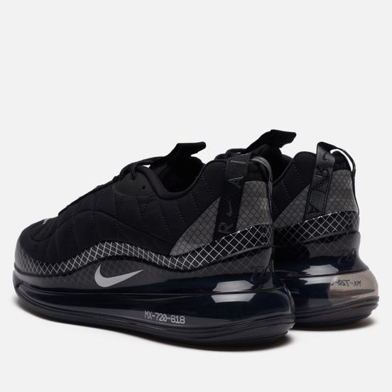 Мужские кроссовки Nike MX-720-818 Black/Metallic Silver/Black/Anthracite