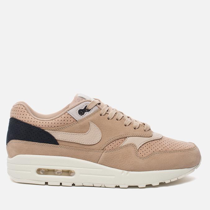 Мужские кроссовки Nike NikeLab Air Max 1 Pinnacle Mushroom/Oatmeal/Bio Beige/Light Bone