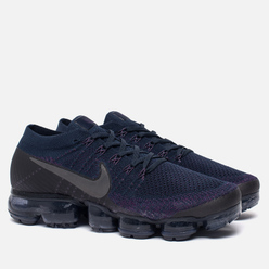 Мужские кроссовки Nike NikeLab Air Vapormax Flyknit College Navy/Dark Grey/Night Purple