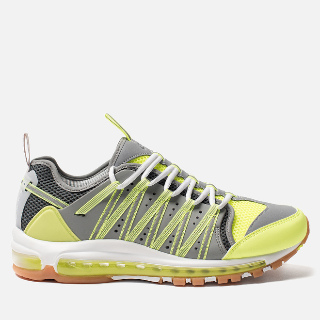 Мужские кроссовки Nike x CLOT Air Max 97 Haven Volt/Dark Grey/Pure Platinum