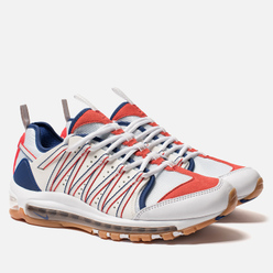 Мужские кроссовки Nike x CLOT Air Max 97 Haven White/Sail/Deep Royal Blue