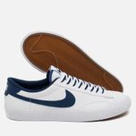 Мужские кроссовки Nike NSW Tennis Classic CS White/Coastal Blue/Gum/Mid Brown фото- 2