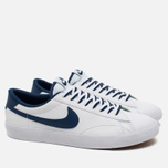 Мужские кроссовки Nike NSW Tennis Classic CS White/Coastal Blue/Gum/Mid Brown фото- 1
