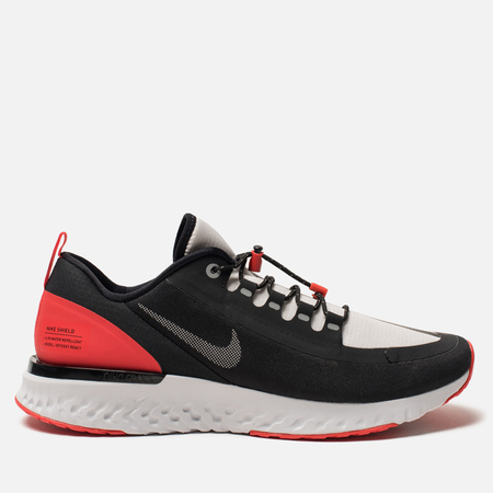 Мужские кроссовки Nike Odyssey React Shield NRG Black/Reflect Silver/Habanero Red