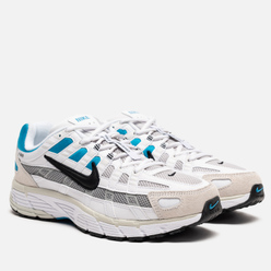 Мужские кроссовки Nike P-6000 White/Black/Laser Blue/Light Smoke Grey