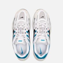 Мужские кроссовки Nike P-6000 White/Black/Laser Blue/Light Smoke Grey фото- 1